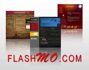 free flash website